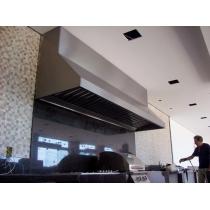 CG250 - Coifa Gourmet INOX 430 - Largura até 2,50m