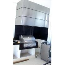 CF250 - Coifa Caixa INOX 430 - Largura até 2,50m