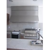 CG200S - Coifa Gourmet INOX 304 - Largura até 2,00m