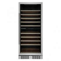 Adega Climatizada Elettromec CV-S110-S-2Z 110 Garrafas Controle Eletrônico Compressor Dual Zone