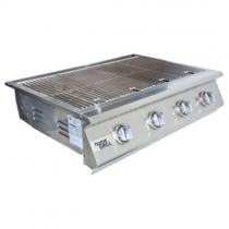 Grelhador a Gás HOME E GRILL - 4 Queimadores - INOX 304