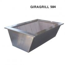 Caixa Braseiro para KIT ELEVGRILL GIRAGRILL 584 Cooktop