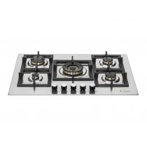 Cooktop Elanto Professionale 5 BOCAS 75cm Central - LNTP75GDC4BX