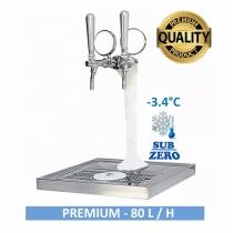 Chopeira COMPLETA 2 VIAS Naja Premium - Torre Congelada - Motor Anexo