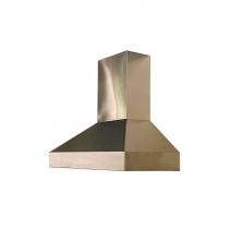 PR100 - Coifa Pirâmide INOX 430 - Largura até 1,0m