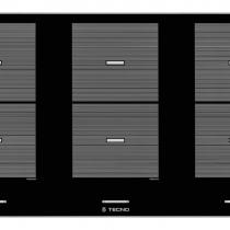 Cooktop Elétrico Indução Tecno Original 6 Bocas 90cm - THVI90 EPDA