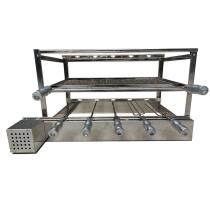 Grill Giratório WR Steel Influence Inox 304 - 76x48